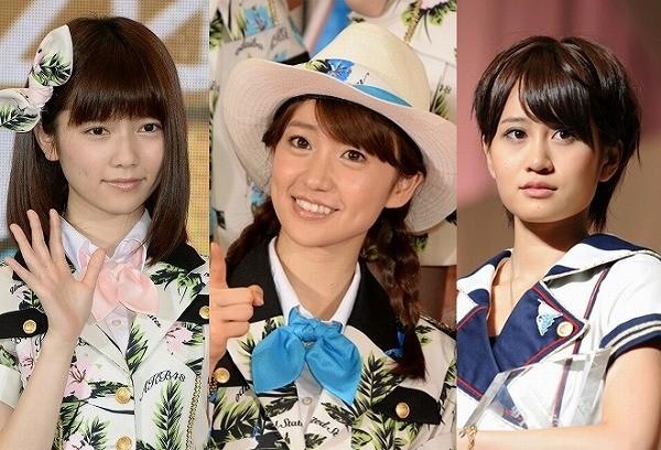 元SMAP対決の裏で元AKB48三つ巴ドラマ対決勃発
