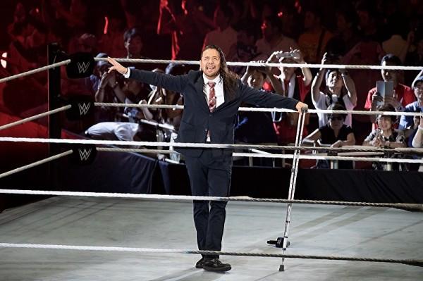 WWE中邑真輔がUS王座リターンマッチ権を強奪!SD女子王者アスカはベッキーと舌戦!