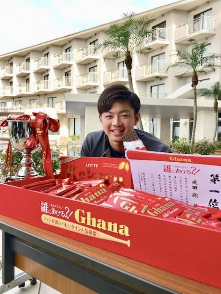 【千葉ロッテ】第2回バレンタイン総選挙は高卒3年目の成田翔が ...