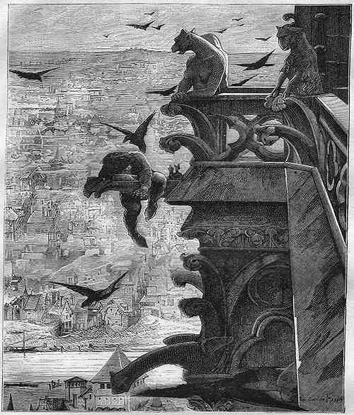ノートルダム大聖堂を守っていた?奇妙な怪物の彫刻「ガーゴイル」