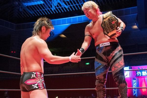 「新日本さんみたいな闘いを」HEAT-UP王者 兼平大介、18歳の挑戦者 井土徹也の思い
