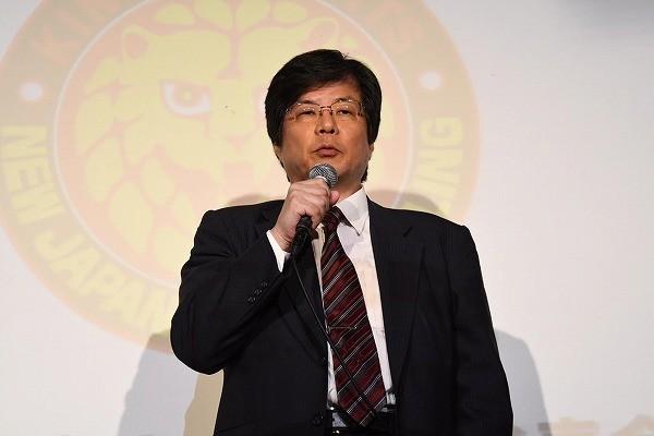 打倒、WWE!「新日本プロレスは米国に本格進出します!」木谷オーナーが戦略発表会で断言