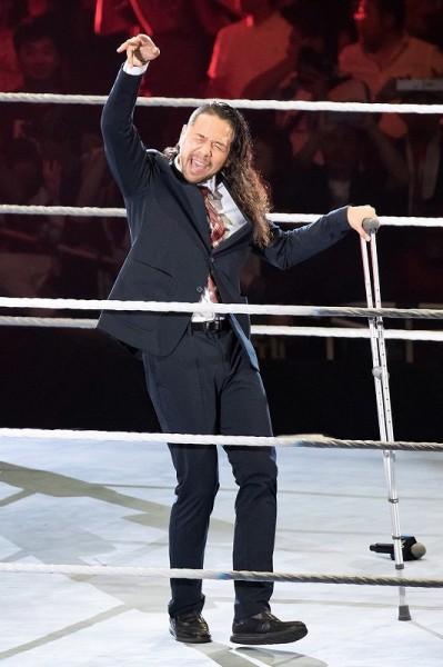 WWE中邑真輔がまさかの王座陥落後、意味深ツイート!ヒデオ・イタミは退団か?