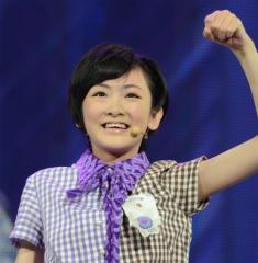 乃木坂46からの交換留学生 生駒里奈はAKB48総選挙速報で第56位