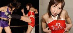 格闘美 アイドルレスラー風香が、ぐ〜んと大きく成長して復活