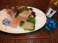 釣れた魚と旨い酒!日本全国釣り行脚 兵庫県・武庫川一文字産カサゴ