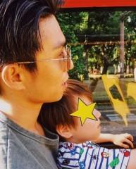 """中尾明慶が親子ツーショットを公開! 4歳息子の""""茶髪""""に注目集まる"""