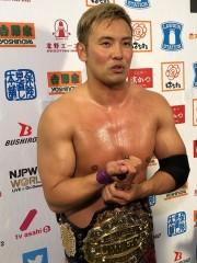 新日本G1がダラスで開幕! オカダ・カズチカが昨年覇者の棚橋弘至から白星スタート