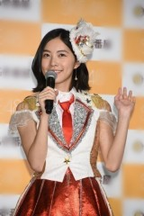 正式に不参加発表 松井珠理奈、総選挙で1位も新曲のセンターに立てず