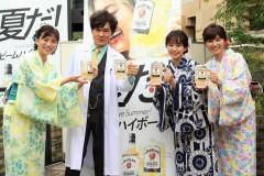 今夜新シリーズスタート!『遺留捜査』宮崎香蓮、甲本雅裕と上川隆也は「漫才を見ているよう」