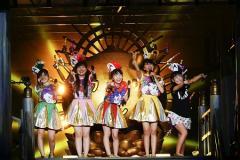 ももクロ・夏ライブ「桃神祭」 猛暑の中、モノノフ61,989人を集め開催