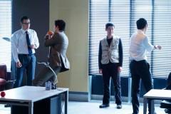 小栗旬×西島秀俊、撮影の合間も常にアクティブな特捜班男子4人