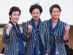 「必死です!」稲垣、草なぎ、香取新曲披露 売上全額寄付のパラスポ応援ソング