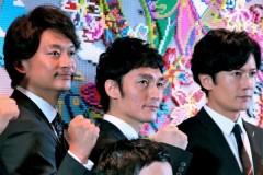 """元SMAP3人、大手レコード会社グループに ついに""""CDデビュー""""に向け始動"""