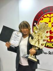 新日本プロレス棚橋弘至、完全復活ストーリーが9.23神戸から始まる!