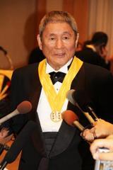 ビートたけし 集団的自衛権行使に反対姿勢「貧しくとも憲法を守る平和な日本をみんなで頑張ってやるべき」