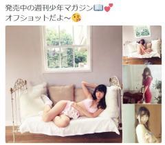 AKB48 柏木由紀のグラビアオフショットがエロ過ぎる!