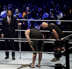WWE王座陥落の中邑真輔がギャローズ&アンダーソンと再会!戸澤陽王座挑戦へ!