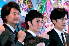 香取慎吾「離れていても想いは一つ」西日本大雨被害者にエール 稲垣、草なぎと東京パラ親善大使に