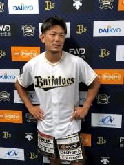 2カ月前に完売!「オリックスファン代表として」K-1皇治が武尊に地元大阪で挑戦!