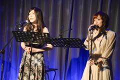 みるじぇねアンプラグドライブで並木優と沖田杏梨がピアノをバックに熱唱