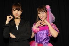 舞台『ミラクリ』千秋楽 元NMB48の三秋里歩・高野祐衣にインタビュー