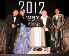 「2012」ジャパンプレミア 欽ちゃんが世界の終末に残したい言葉