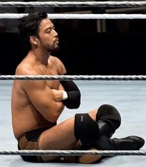 WWE東京公演最終日、ヒデオが柴田勝頼に捧げるあぐらパフォーマンス!締めは中邑!