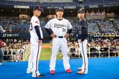オリックス、山岡泰輔&山本由伸が監督推薦で球宴選出! 猛牛三銃士揃い踏み