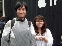 """相席スタート・山添寛 """"ちょうどいいブス""""山崎ケイの助けもあり見事iPhone7をゲット"""