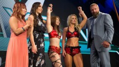 WWEで里村準決勝敗退もトリプルH称賛!イオは決勝進出で元スターダム対決!