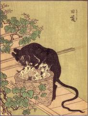 「ネズミバーガー」の元ネタ・巨大ネズミは昔から日本に…