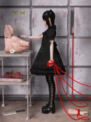 ゴスロリチックな人形たちのシュールな世界「富崎NORI 個展」