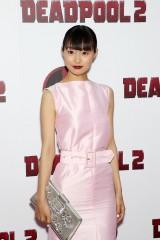忽那汐里、ハリウッド作品でレッドカーペットデビュー!『デッドプール2』主演俳優も大絶賛