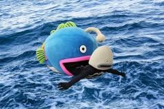 福原愛とニアミス?謎の魚が台湾で始球式に登板!