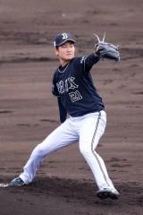 阪神から移籍の竹安大知、オリックス紅白戦で2回無失点も「反省だらけ」ブルペンへ直行!