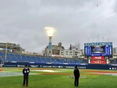 梅雨シーズンに開催のプロ野球交流戦。今年も大雨強行必至!ゆとりある日程作りを!