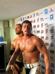 Codyがヤングバックスとの自主興行で、あのNWA世界ヘビー級王座を奪取!