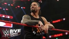 WWE東京公演に白血美から復活のローマン・レインズが参戦!