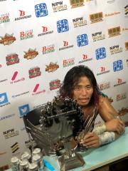 新日本、ヒロム長期欠場でIWGPジュニア王座返上!9.23神戸で棚橋対オカダの決着戦!