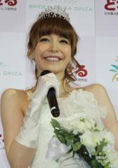 藤井リナがウエディングドレス「相手さえいれば、そこからは早いと思います」