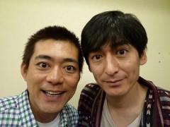 博多大吉と近江アナが『まんぷく』萬平、福子に扮した写真が話題沸騰 華丸は嫉妬でリベンジ宣言?