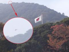 伊勢神宮に謎の飛行物体現れる?