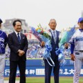 【DeNA】「横浜は永遠に忘れない」ダンディな名将・権藤博さん殿堂入りセレモニー