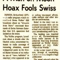 スイス中が大混乱!? エイプリルフールのラジオ放送で起きたパニック