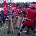 寸劇やパレードじゃない! 隊列組んだ甲冑武者のぶつかり合い「ガチ甲冑合戦・信長プロジェクト」が開催