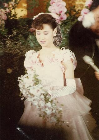 【帰ってきたアイドル親衛隊】ドサクサ紛れに撮った松田聖子の結婚披露宴写真
