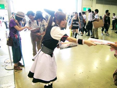 真夏のヲタク祭りコミケ開幕 「麻生アウト」の声続出