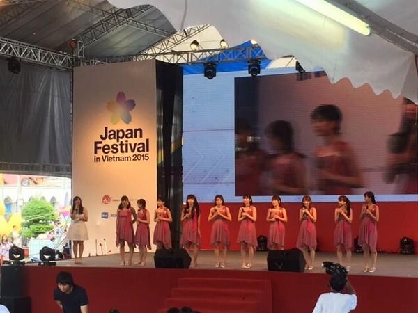 バクステ外神田一丁目・初のベトナム公演で大暴れ!